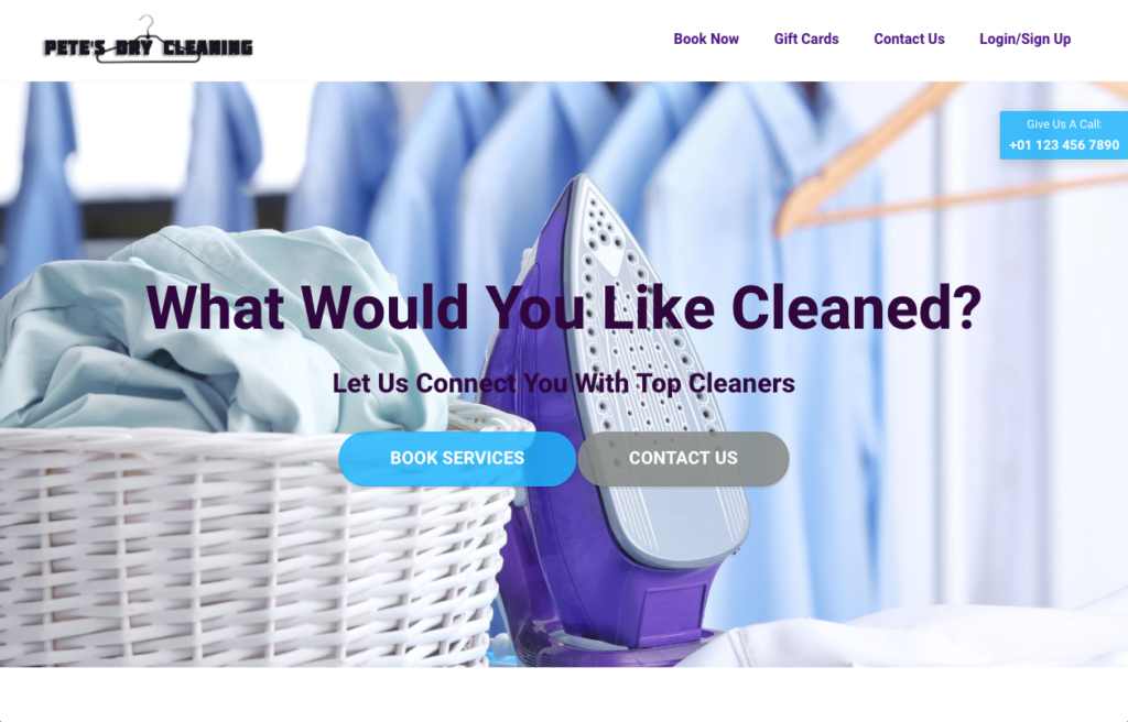 Business Ideas - Dry-Cleaning Pickup & Delivery